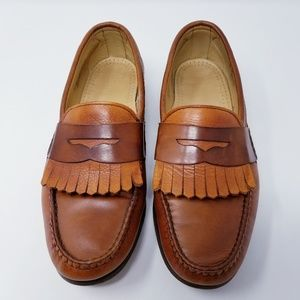 Allen Edmonds Mens Ridgeway Shoes Brown size 9D